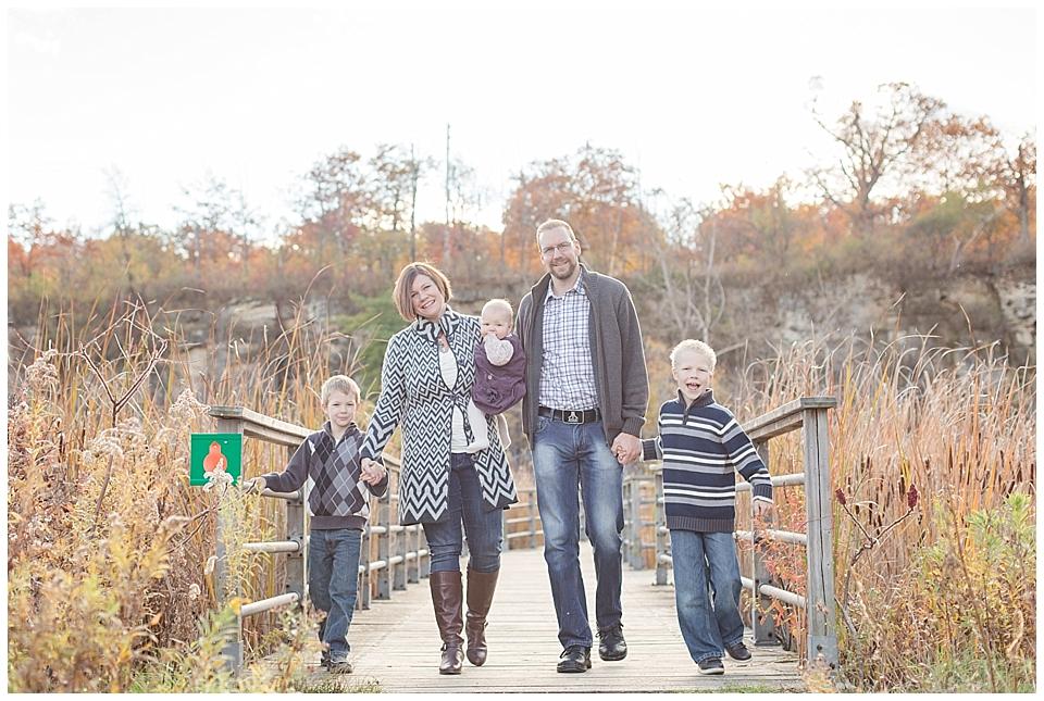 The Burgess Family – Fall Family Photography – Burlington Family Photographer